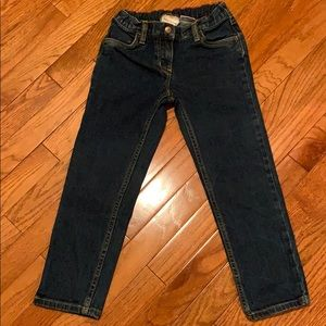 Hanna Andersson Girls Jeans. Size 120 (6/7)